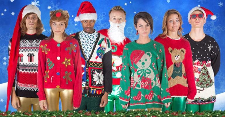 Top 10 najbrzydszych świątecznych swetrów ever