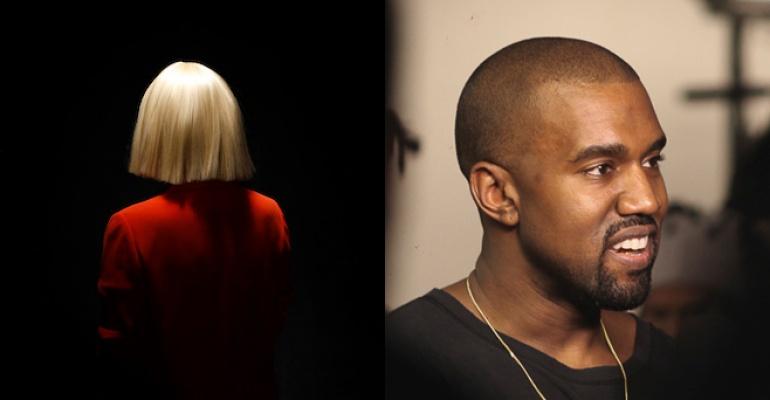 Najnowszy numer - Sia i Kanye West!