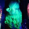 Świecące w ciemności włosy - nowy trend na Instagramie