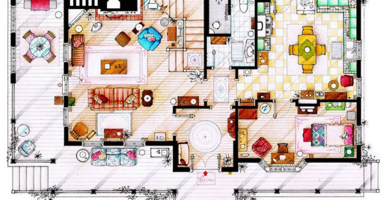 Plany domów z najpopularniejszych seriali