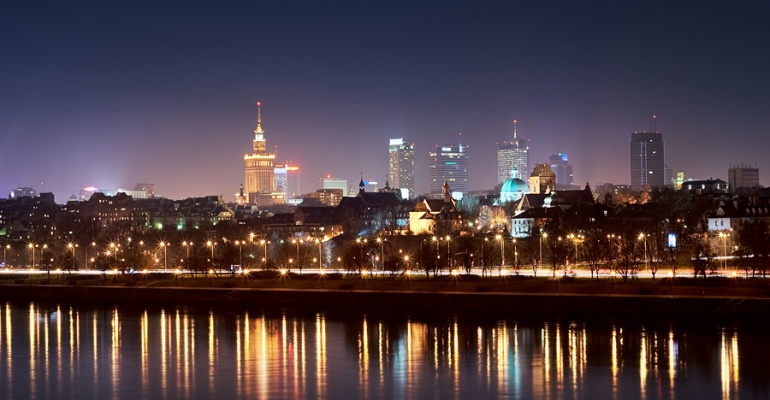 Imprezowy piątek w Warszawie