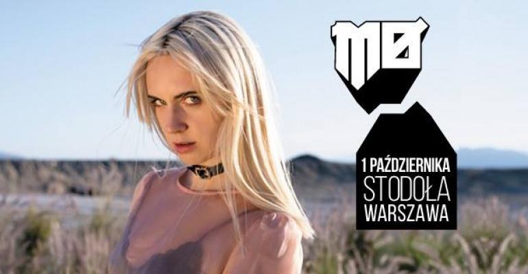 MØ na klubowym koncercie w Warszawie