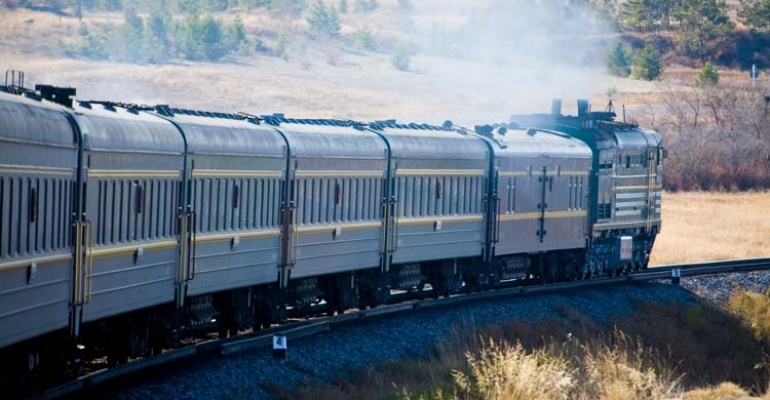 Kolej Transsyberyjska. Pociągiem przez Rosję