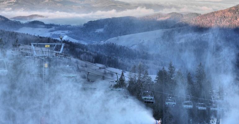 Pierwszy Górski Zimowy Runmageddon
