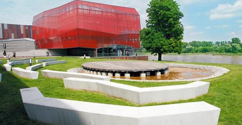 Dzielnica Wisła wzbogacona o przestrzeń artystyczną