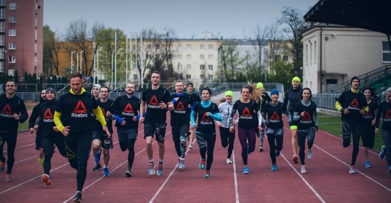 Wielki otwarty trening biegowy Reebok RUN CREW - poznaj trenowanie poprzez bieganie