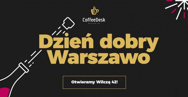 Coffeedesk - nowe miejsce z pyszną kawą