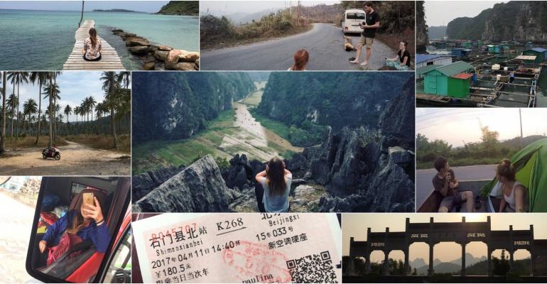 W pojedynkę autostopem przez 11 krajów Azji