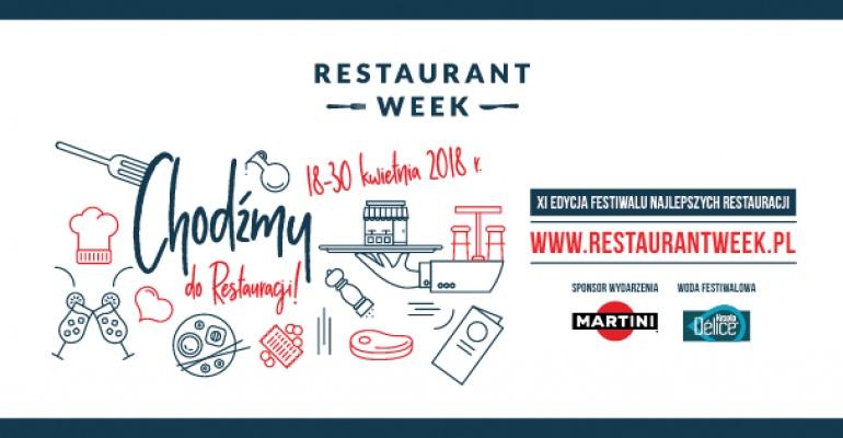 Restaurant Week kwiecień 2018
