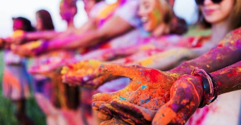 Z pewnością najradośniejszy festiwal w Polsce! Festiwal kolorów