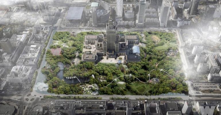 Park Centralny – Nowa koncepcja dla Warszawy