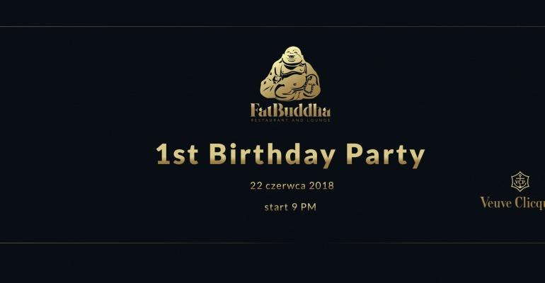 Najgrubsza impreza sezonu, czyli pierwsze urodziny restauracji Fat Buddha