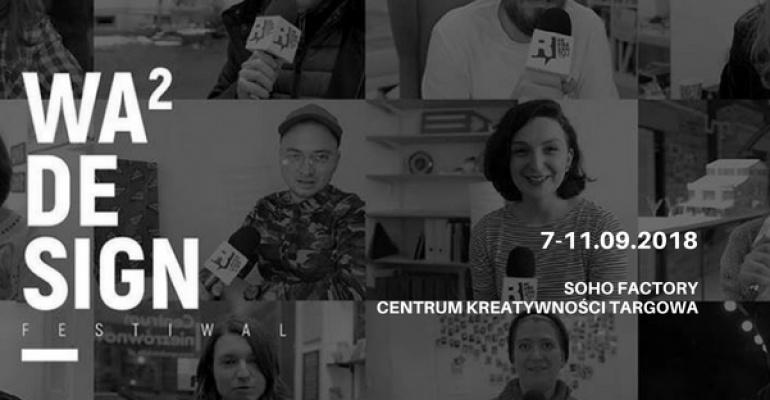 Wawa Design Festiwal – Warszawski Festiwal Designu wystartował!