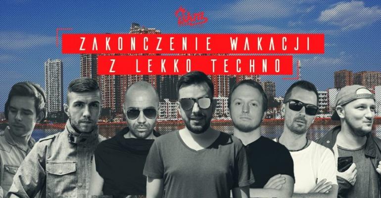 Zakończenie wakacji z Lekko Techno w warszawskiej Iskrze