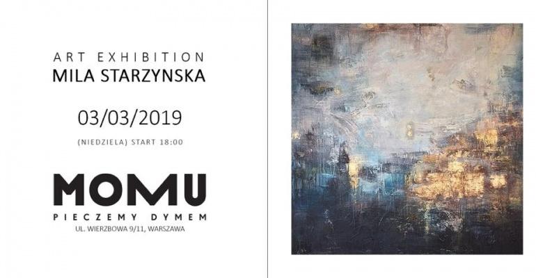 Wystawa Mili Starzyńskiej w MOMU – wernisaż już 3.03!