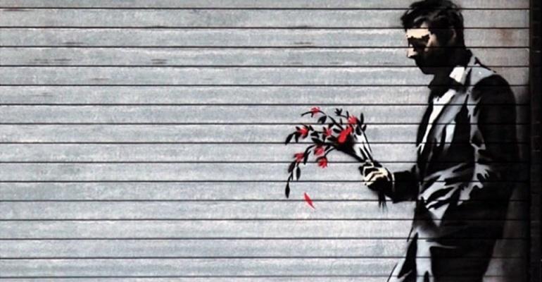 Banksy na Targach Sztuki Dostępnej w Warszawie!