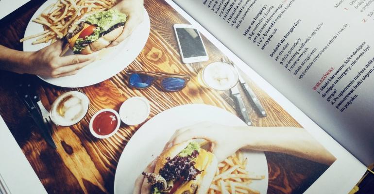"""Książka """"Najlepsze przepisy-najlepszych restauracji"""""""