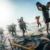 Runmageddon w Trójmieście, start na plaży