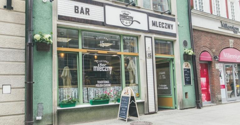 Najlepsze bary mleczne w Gdańsku