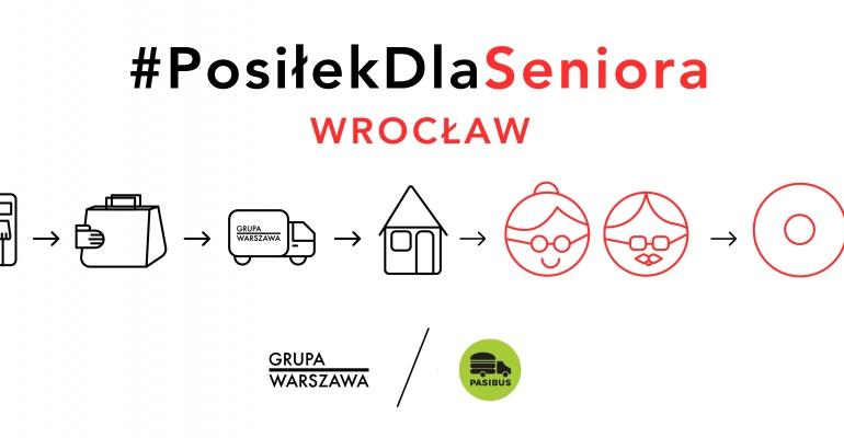 Wrocław dołącza do realizacji akcji #PosiłekDlaSeniora