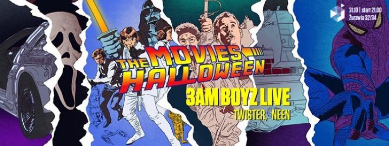 THE MOVIES HALLOWEEN feat. 3AM BOYZ LIVE | 31.10 | LISTA FB FREE*