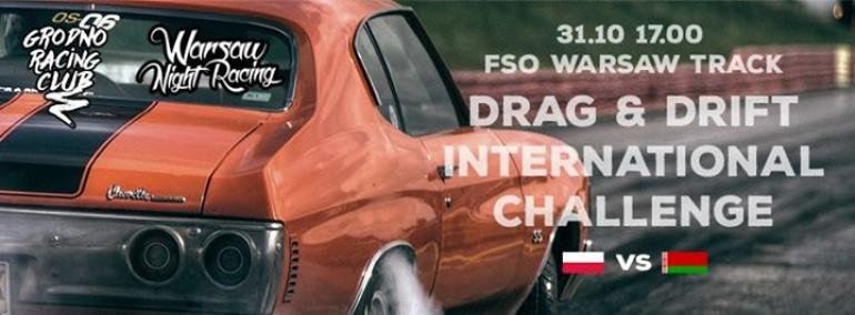 Halloween z Warsaw NIght Racing + International Challenge PL VS BY