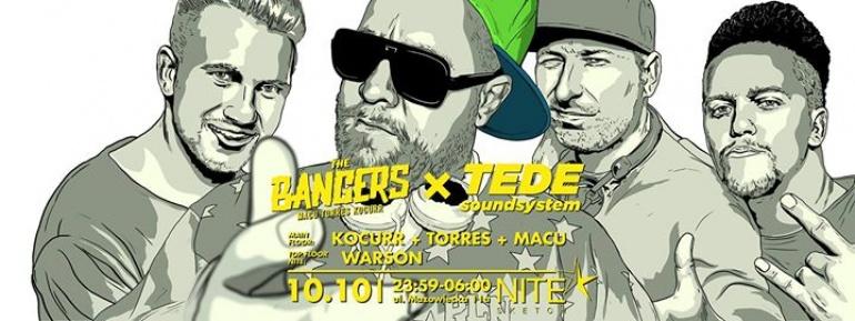 THE BANGERS x TEDE Soundsystem x Warson