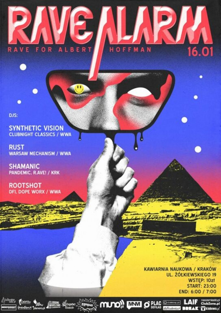 RAVE ALARM #6 ~ #Acid #Techno #Gabba #Trance