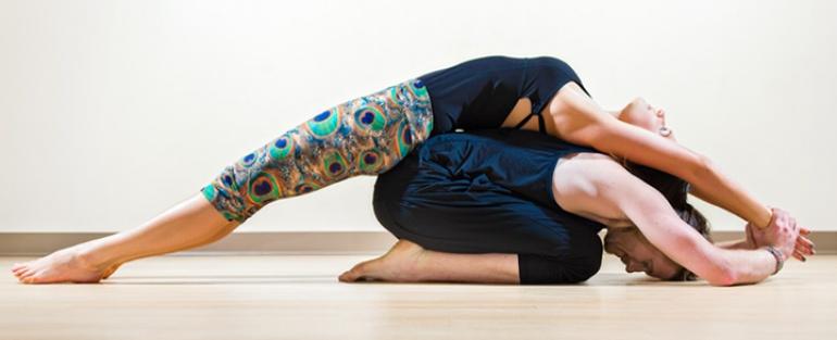 yoga w parach