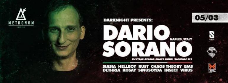 Darknight with Dario Sorano & Scream Music