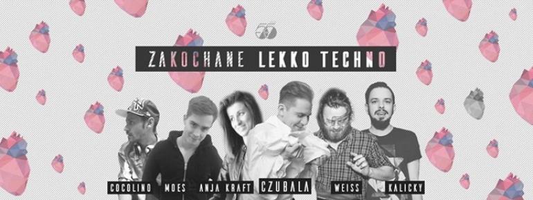 Zakochane LEKKO TECHNO # lista FB free all nite*