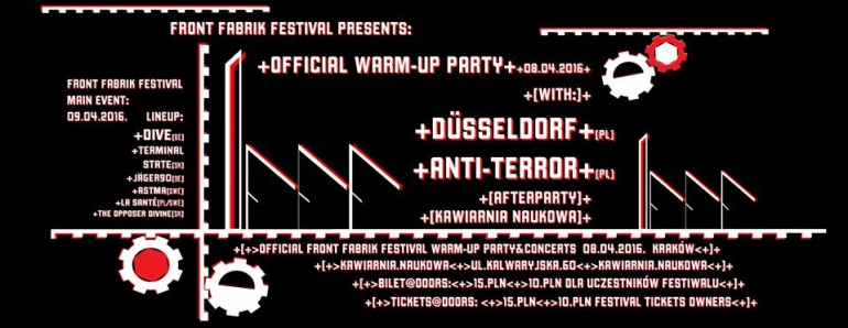 Front Fabrik Festiwal - official WARM-UP