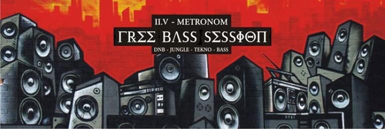 Free Bass Session - Poniedziałek 02.05 - Metronom