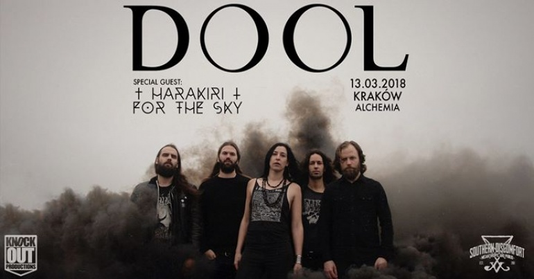 "Dool + Harakiri For The Sky / 13 III / ""Alchemia"" Kraków"