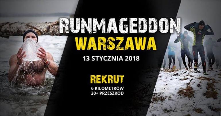 Zimowy Runmageddon Rekrut Warszawa