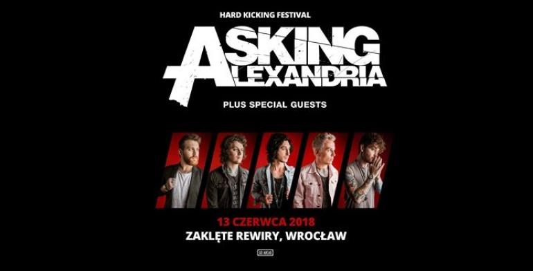 Asking Alexandria: 13.06.2018 Wrocław, Zaklęte Rewiry