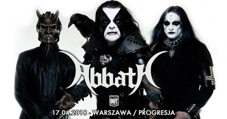 """Abbath / 17 IV / """"Progresja"""" Warszawa"""