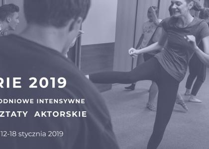 Aktorskie warsztaty zimowe w Krakowie