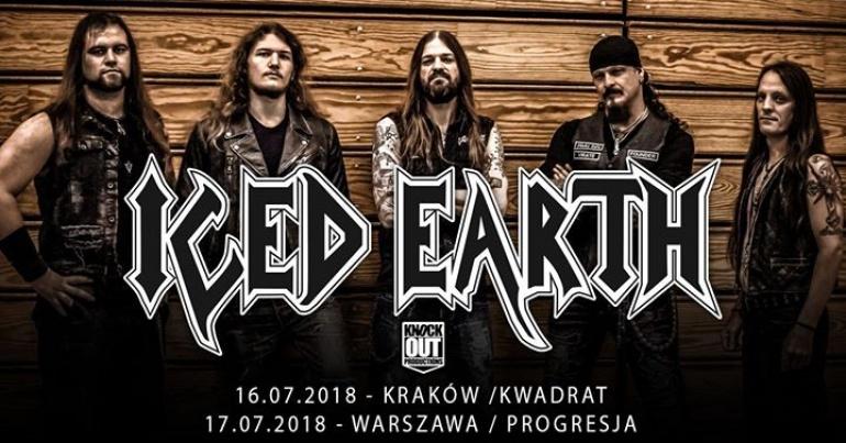 "Iced Earth / 17 VII / ""Progresja"" Warszawa"