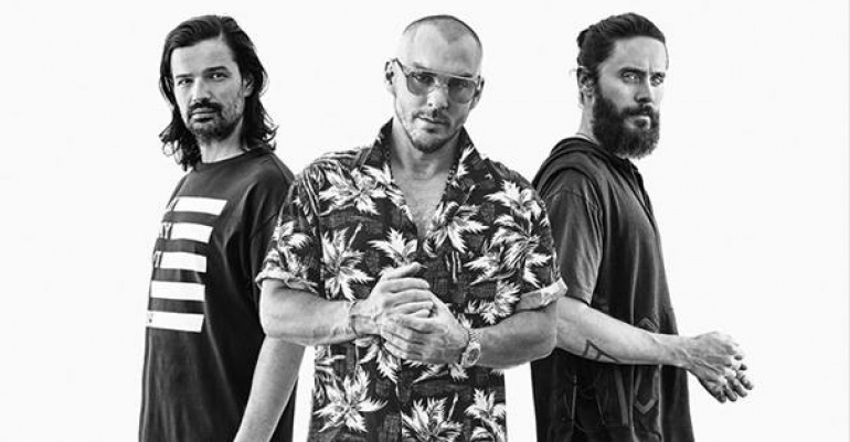 Thirty Seconds to Mars Official Event, Atlas Arena, 18.04.2018