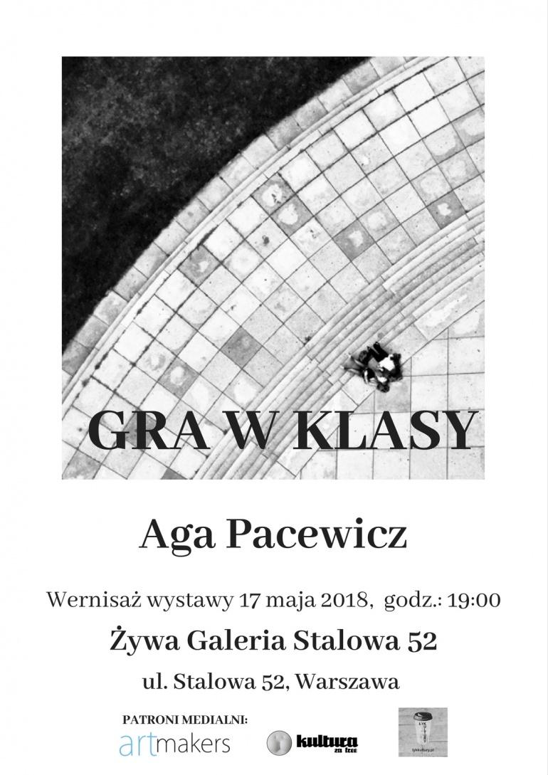 """Wernisaż wystawy Agi Pacewicz """"Gra w klasy"""""""