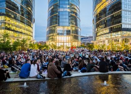Kino Letnie wraca na plac Europejski