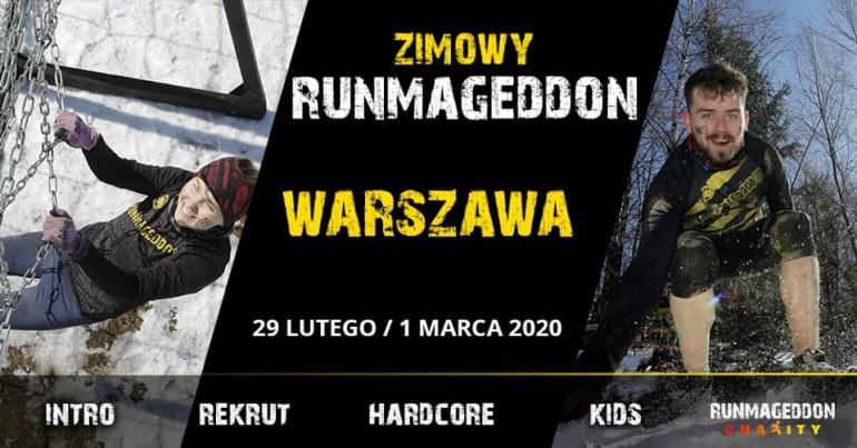 Zimowy Runmageddon Warszawa