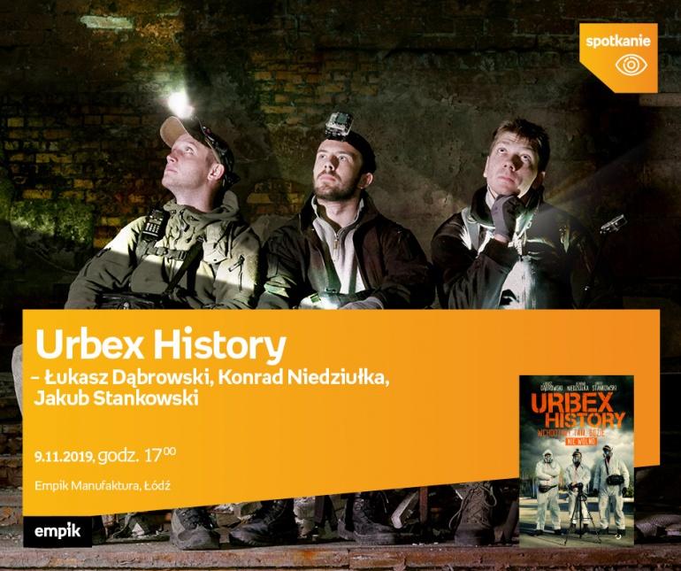 Spotkanie z ekipą URBEX HISTORY