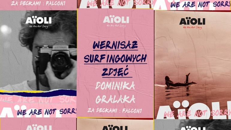 Wernisaż otwierający wystawę surfingowych zdjęć Dominika Gralaka