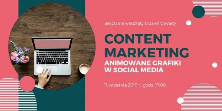 Content marketing - jak tworzyć animowane grafiki w social media?