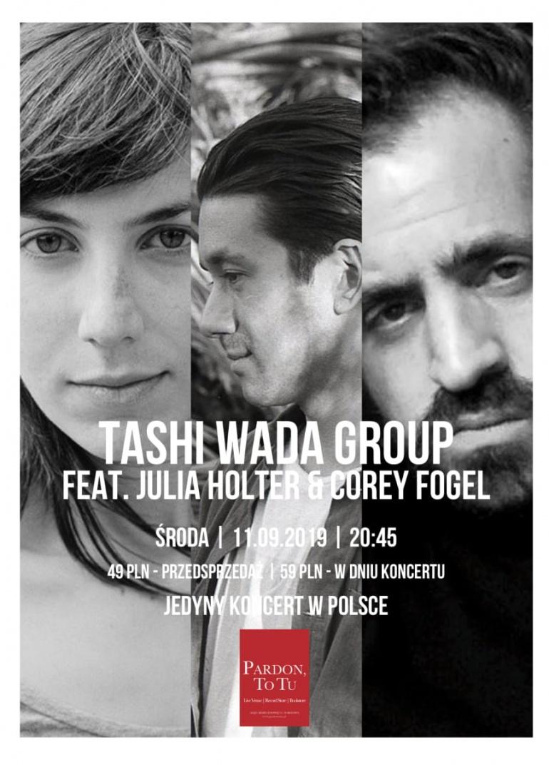 Tashi Wada Group feat. Julia Holter & Corey Fogel