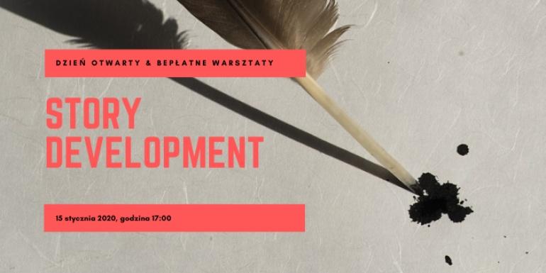 Story development - bezpłatne warsztaty & Dzień Otwarty