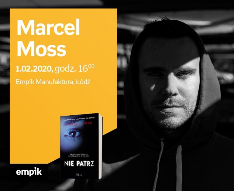 Marcel Moss - spotkanie autorskie