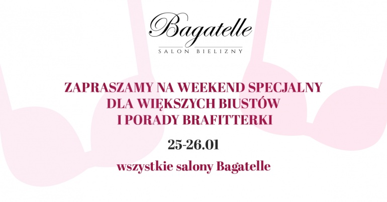 Weekend z dużym biustem w Bagatelle